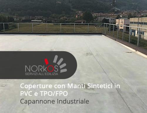 Coperture con Manti Sintetici in PVC e TPO/FPO | Capannone Industriale