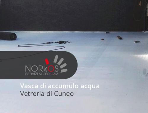 Vasca di accumulo acqua | Vetreria di Cuneo