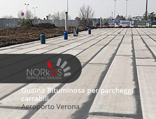 Guaina Bituminosa per parcheggi carrabili | Aeroporto Verona