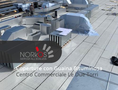 Coperture con Guaina Bituminosa | Centro Commerciale Le Due Torri