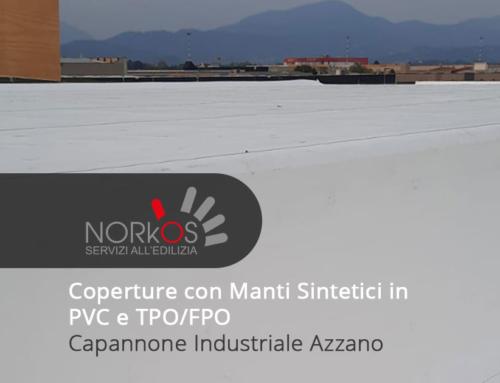 Coperture con Manti Sintetici in PVC e TPO/FPO | Capannone Industriale Azzano