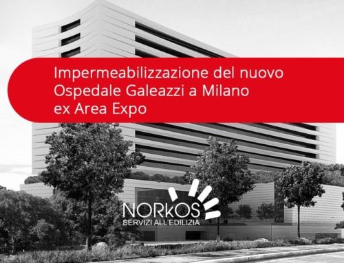 Impermeabilizzazione nuovo Ospedale Galeazzi