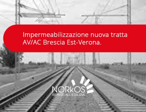 Impermeatura nuova tratta AV/AC Brescia Est-Verona