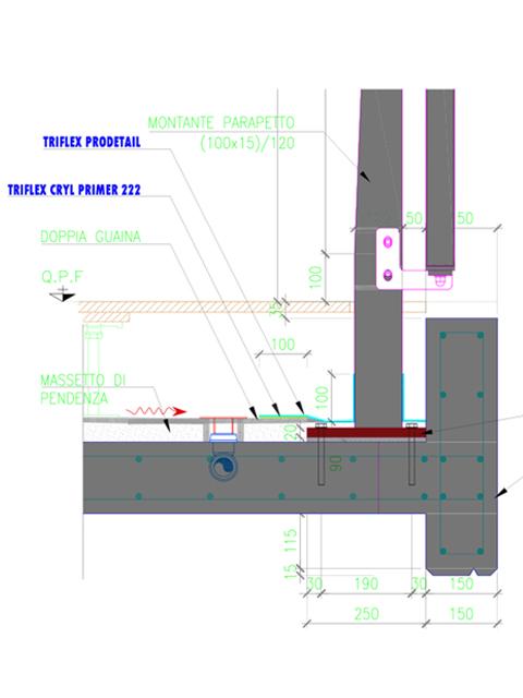 Riqualificazione in zona Isola con sistema Triflex