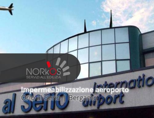 Copertura terminal Aeroporto internazionale Il Caravaggio Orio al Serio | Bergamo