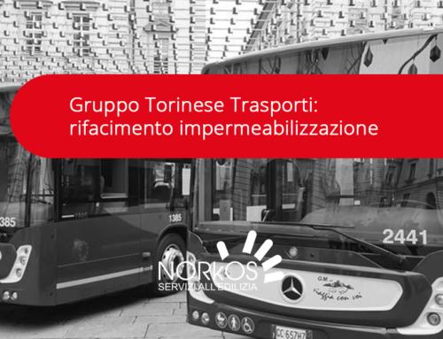 Gruppo Torinese Trasporti: rifacimento impermeabilizzazione