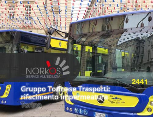 Gruppo Torinese Trasporti rifacimento impermeabilizzazione | Torino